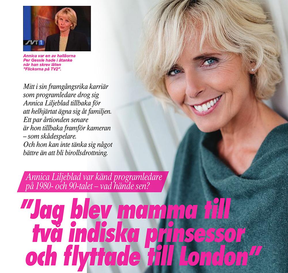 Annica Liljeblad Svensk Damtidning