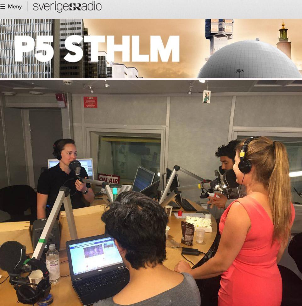 Jessica Frej Sveriges radio p5 sthlm