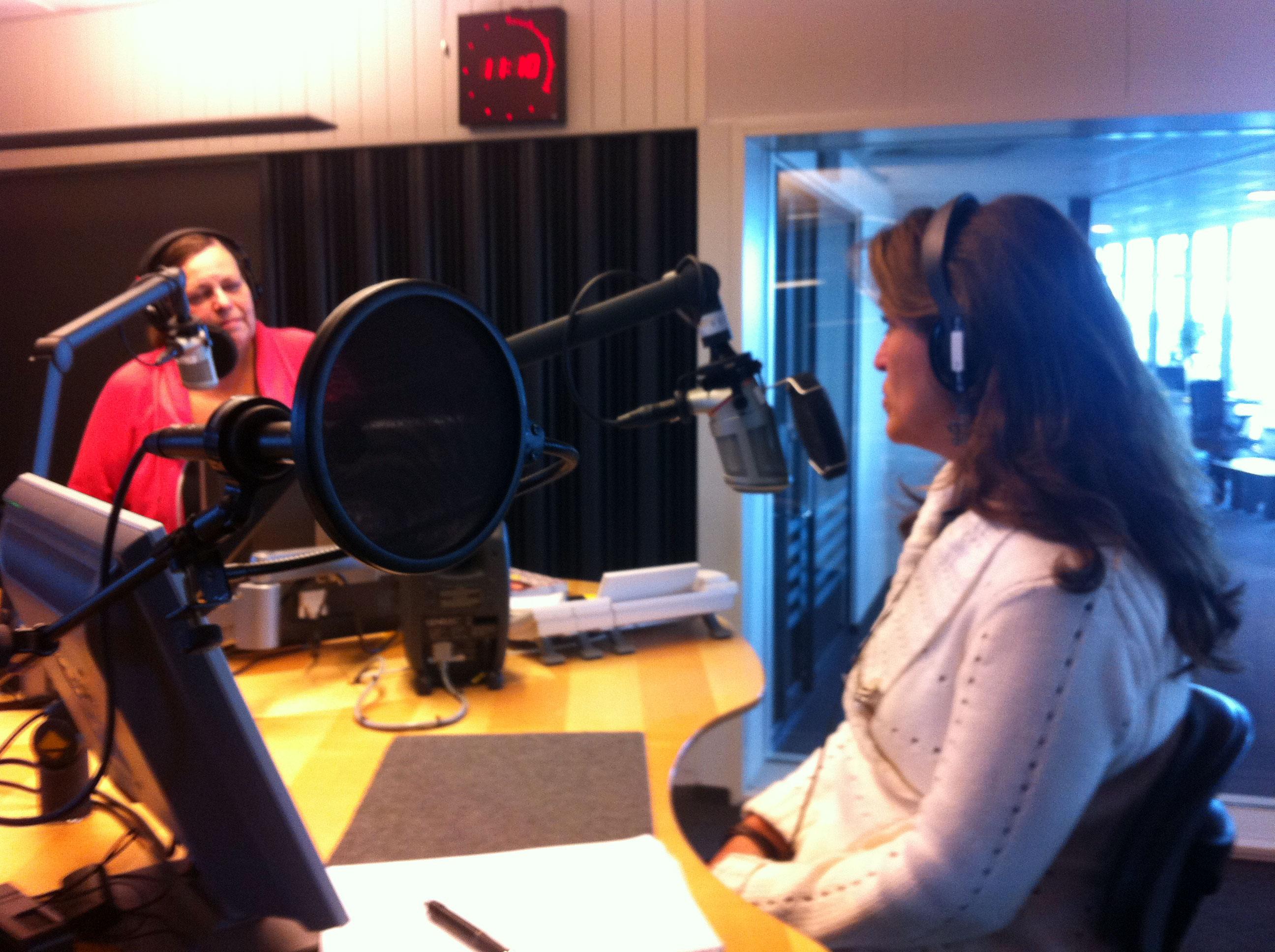 Ulrika-on-the-air-with-Lena-Rangeby