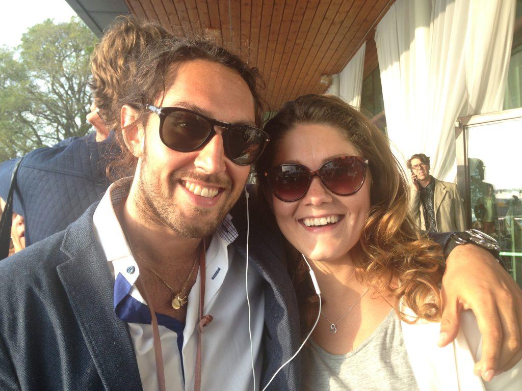 Leo Razzak och Mariela Valencia Vogel