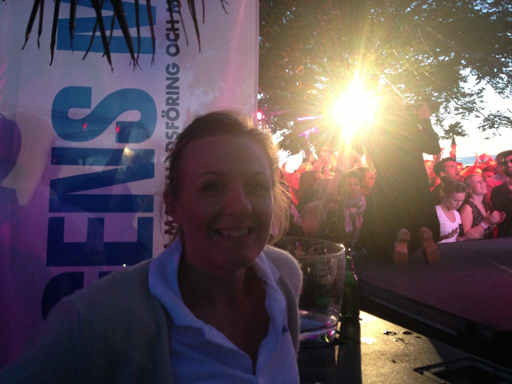 Lina Harbom Hedberg, CBAB, DJ battle