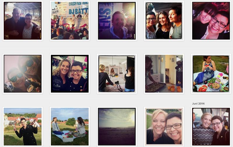 Följ med bakom kulisserna på Instagram- EditK