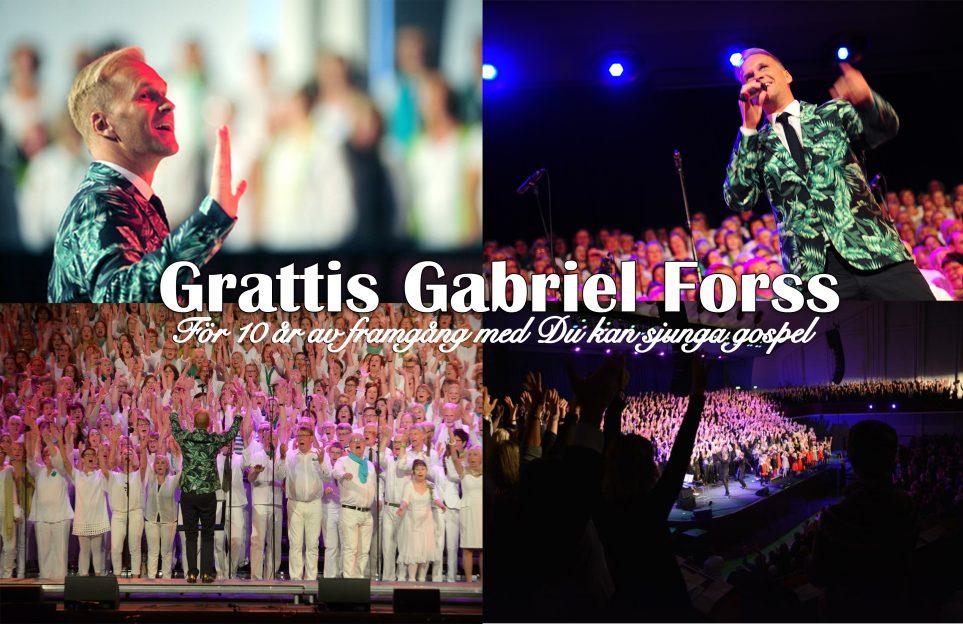 gabriel Forss Du kan sjunga gospel