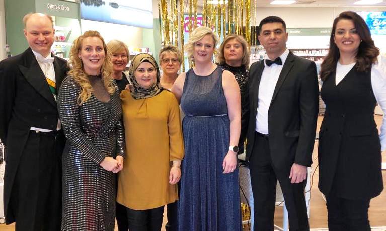 Apoteksgruppen Karlshamn vinnare av Årets Franchisetagare