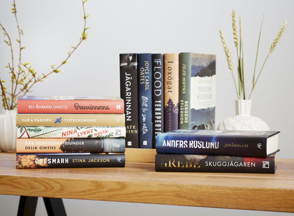 Böcker som går att rösta på till Årets Bok 2020