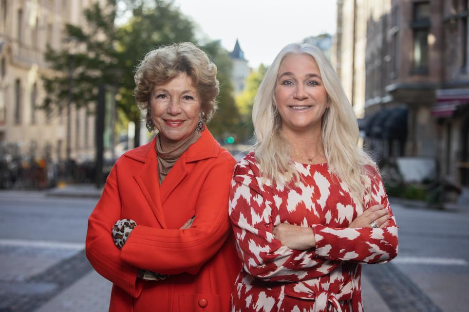 Amelia Adamo och Ann Söderlund är nya ambassadörer för VagiVital. Samarbetet är en del i VagiVitals arbete att lyfta frågan om kvinnors underlivshälsa.