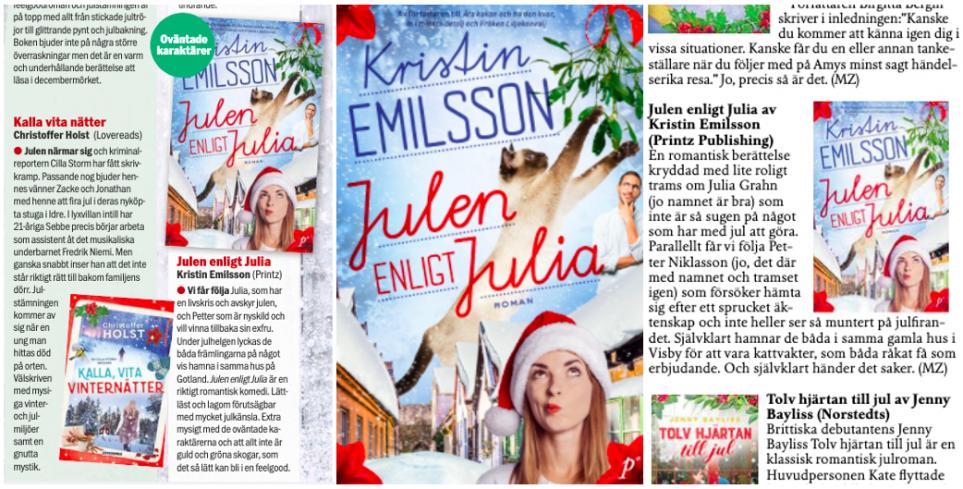 Julbok Julen enligt Julia