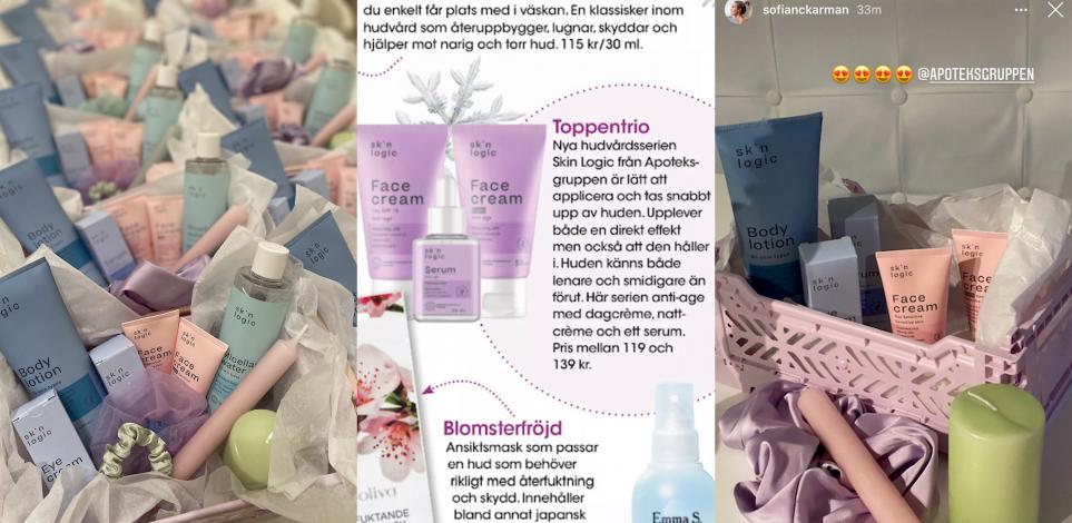 Apoteksgruppens lanserar Skin Logic